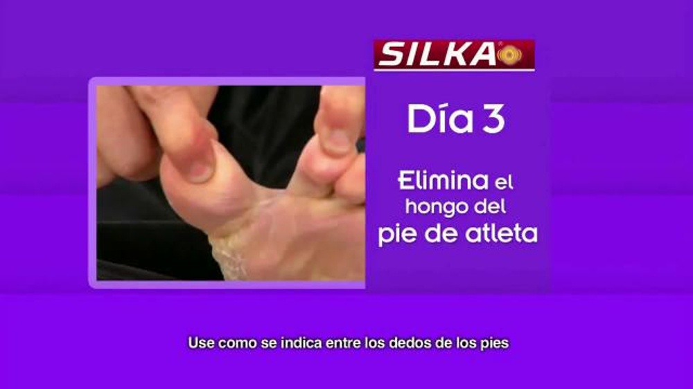Silka TV Commercial, 'Elimina el hongo'