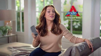 Atkins TV Spot, 'Happy Weight' Featuring Alyssa Milano - Thumbnail 10