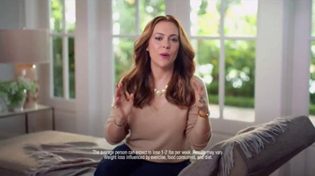 Atkins TV Spot, 'Happy Weight' Featuring Alyssa Milano - Thumbnail 3
