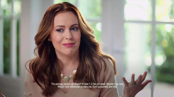 Atkins TV Spot, 'Happy Weight' Featuring Alyssa Milano - Thumbnail 4
