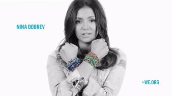 ME to WE Rafiki Bracelets TV Spot, 'Wear Your Passion' Feat. Nina Dobrev - Thumbnail 9