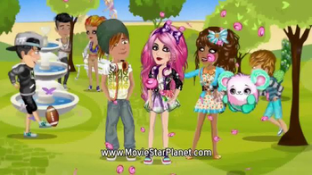 MovieStarPlanet.com TV Spot, 'Chat, Have Fun and Be a Star'