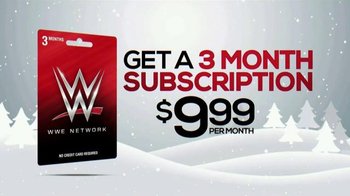 WWE Network Giftcard TV Spot, 'Holiday Gift'