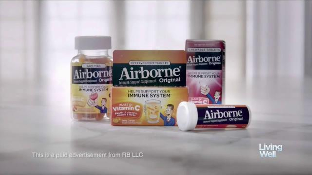 Airborne TV Commercial, 'Living Well' Feat. Kristi Yamaguchi