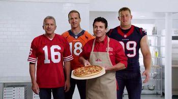 Papa John's TV Spot, 'Super Bowl 50' Feat. Peyton Manning, J.J. Watt
