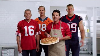 Papa John's TV Spot, 'Super Bowl 50' Feat. Peyton Manning, J.J. Watt - 4912 commercial airings