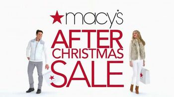 Macy's After Christmas Sale TV Spot, 'Clothes'