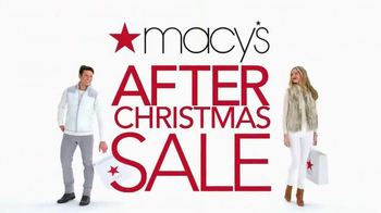 Macy's After Christmas Sale TV Spot, 'Clothes' - Thumbnail 10