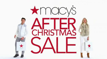 Macy's After Christmas Sale TV Spot, 'Clothes' - Thumbnail 2