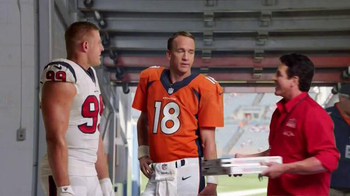 Papa John's TV Spot, 'Pocket Change' Featuring J.J. Watt, Peyton Manning - Thumbnail 1