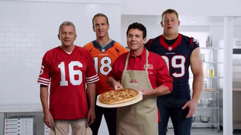 Papa John's TV Spot, 'Pocket Change' Featuring J.J. Watt, Peyton Manning - Thumbnail 10