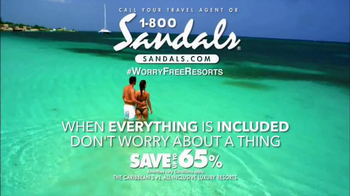 Sandals Resorts TV Spot, 'Everything Is Included' Song by Skip Marley - Thumbnail 10