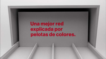 Verizon TV Spot, 'Una red mejor: explicada por bolas de colores' [Spanish] - Thumbnail 1