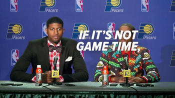 Gatorade Recover TV Spot, 'Too Much Fashion' Ft. Paul George, Joseph Young - Thumbnail 4