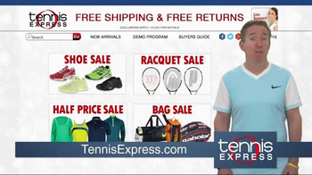 Tennis Express Year End Sale TV Spot, 'Shoes, Racquets & Apparel' - Thumbnail 3