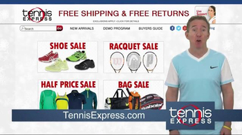 Tennis Express Year End Sale TV Spot, 'Shoes, Racquets & Apparel' - Thumbnail 4