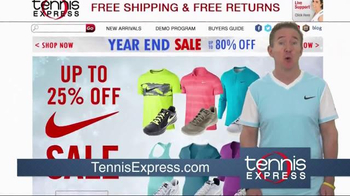 Tennis Express Year End Sale TV Spot, 'Shoes, Racquets & Apparel' - Thumbnail 5