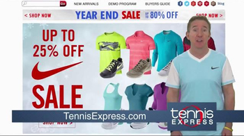 Tennis Express Year End Sale TV Spot, 'Shoes, Racquets & Apparel' - Thumbnail 6