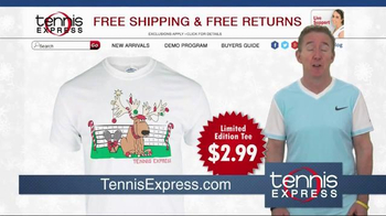Tennis Express Year End Sale TV Spot, 'Shoes, Racquets & Apparel' - Thumbnail 9