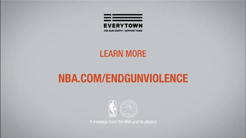 NBA Cares TV Spot, 'Everytown' Feat. Stephen Curry, Joakim Noah, Chris Paul - Thumbnail 7