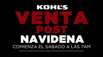 Kohl's Venta Post Navideña TV Spot, 'Ropa de invierno' [Spanish] - Thumbnail 2