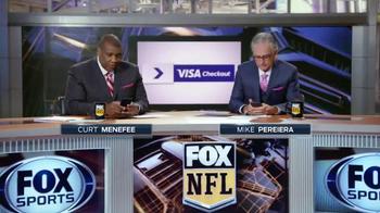 VISA Checkout TV Spot, 'FOX NFL: Gameday Deals' Featuring Curt Menefee - Thumbnail 3