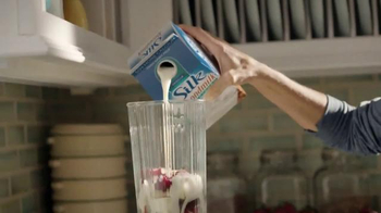Silk Unsweetened Almond Milk TV Spot, 'Contain Your Enthusiasm' - Thumbnail 1