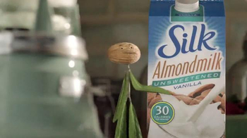 Silk Unsweetened Almond Milk TV Spot, 'Contain Your Enthusiasm' - Thumbnail 3