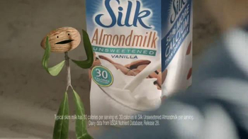 Silk Unsweetened Almond Milk TV Spot, 'Contain Your Enthusiasm' - Thumbnail 4