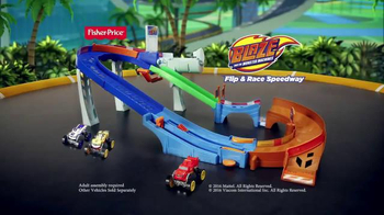 Blaze and the Monster Machines Flip & Race Speedway TV Spot, 'Velocity' - Thumbnail 5