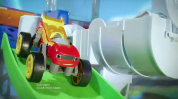 Blaze and the Monster Machines Flip & Race Speedway TV Spot, 'Velocity' - 457 commercial airings