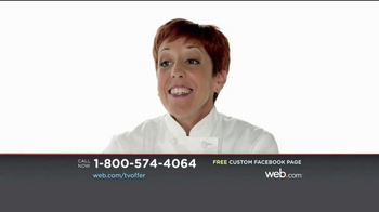 Web.com TV Spot, 'Facebook Page' - Thumbnail 1