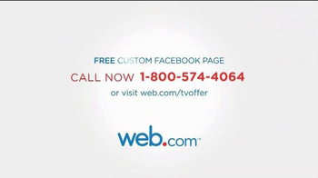 Web.com TV Spot, 'Facebook Page' - Thumbnail 10