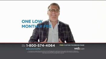 Web.com TV Spot, 'Facebook Page' - Thumbnail 6