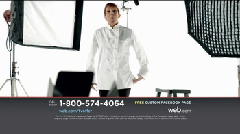 Web.com TV Spot, 'Facebook Page' - Thumbnail 9