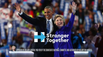 Hillary for America TV Spot, 'On the Ballot' - Thumbnail 10