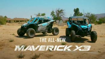 Can-Am Maverick X3 TV Spot, 'Hit the Links' Feat. Ken Block and BJ Baldwin - Thumbnail 10