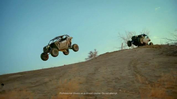 Can-Am Maverick X3 TV Spot, 'Hit the Links' Feat. Ken Block and BJ Baldwin - 139 commercial airings