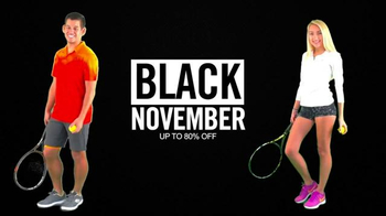 Tennis Express Black November TV Spot, 'New Rackets'