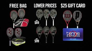 Tennis Express Black November TV Spot, 'New Rackets' - Thumbnail 3