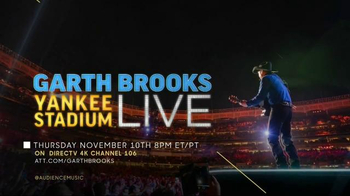 Garth Brooks Yankee Stadium Live TV Spot, 'Once in a Lifetime' - 127 commercial airings