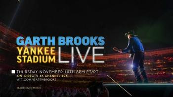 Garth Brooks Yankee Stadium Live TV Spot, 'Once in a Lifetime'