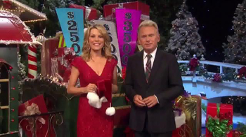 Sears Secret Santa Sweepstakes TV Spot, 'Wheel of Fortune: Could Be Yours' - Thumbnail 1