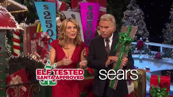 Sears Secret Santa Sweepstakes TV Spot, 'Wheel of Fortune: Could Be Yours' - Thumbnail 9