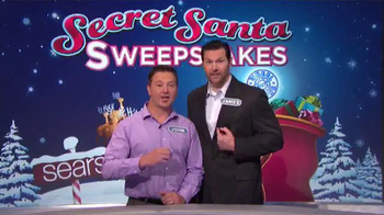 Sears Secret Santa Sweepstakes TV Spot, 'Wheel of Fortune: Could Be Yours' - Thumbnail 2