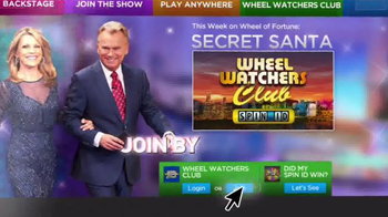 Sears Secret Santa Sweepstakes TV Spot, 'Wheel of Fortune: Could Be Yours' - Thumbnail 6