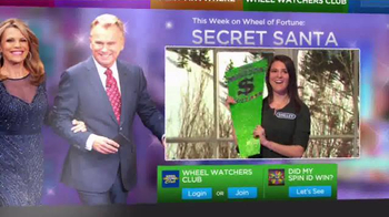 Sears Secret Santa Sweepstakes TV Spot, 'Wheel of Fortune: Could Be Yours' - Thumbnail 7