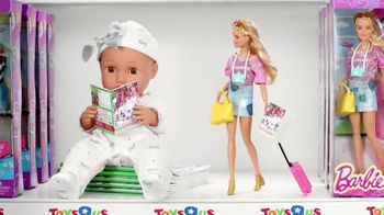 Toys R Us TV Spot, 'Barbie and Baby Doll Talk Wishlists' - 853 commercial airings
