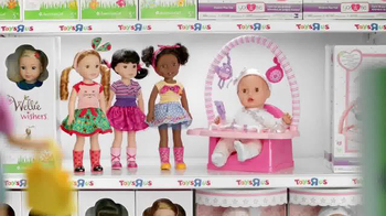 Toys R Us TV Spot, 'Barbie and Baby Doll Talk Wishlists' - Thumbnail 1