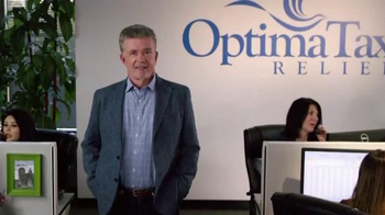 Optima Tax Relief TV Spot, 'Mascot' Featuring Alan Thicke